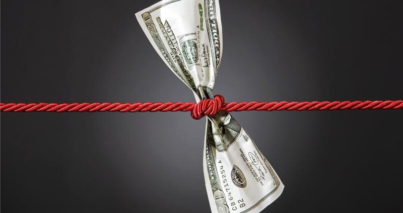 tied up cash represents change order money