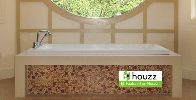 Master bath remodel by Clark Construction in Ridgefield, CT featured on Houzz.