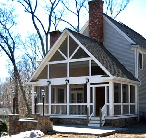Ridgefield CT Screened Porch Addition