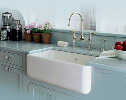 Rohl Shaw fireclay white apron sink