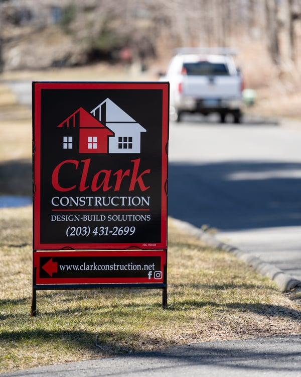 Clark Job Sign