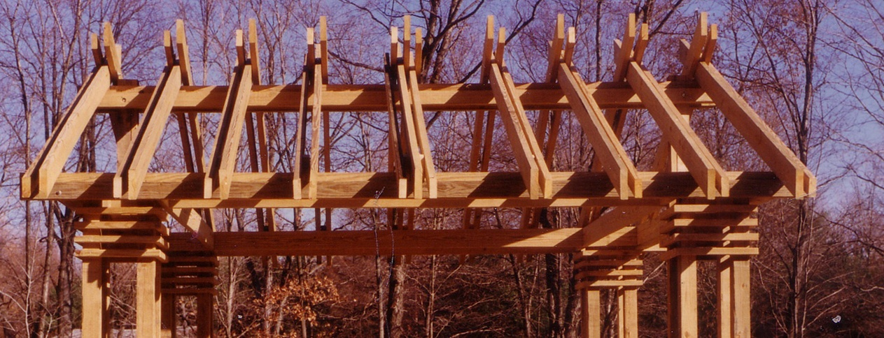 Redding Ct gazebo outdoor structure designed and built by Clark Construction of Ridgefield