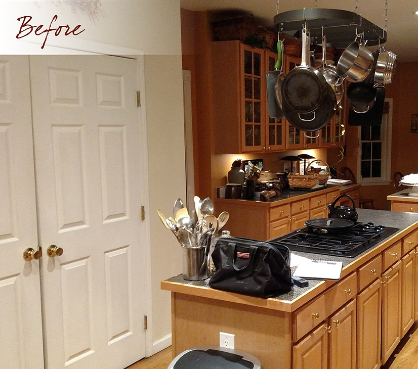 Pre-kitchen remodel