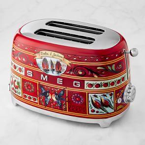 smeg dolce and gabbana toaster